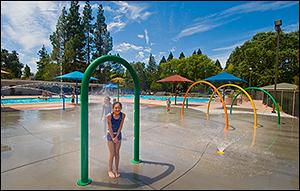 Sprayground at Pleasant Hill Aquatic Park